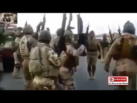 Iraqi security forces smokes fighters in Fallujah and Ramadi, Anbar Province