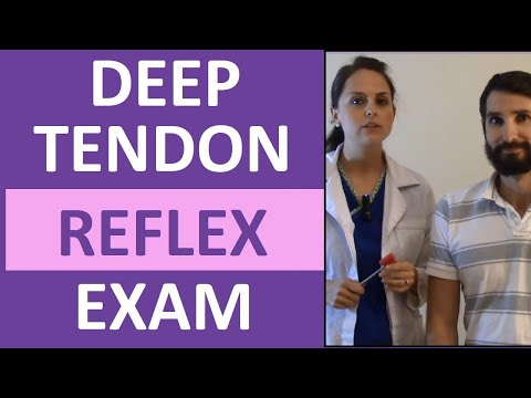 Deep Tendon Reflex Examination for Nursing Head to Toe Assessment of Neuro System