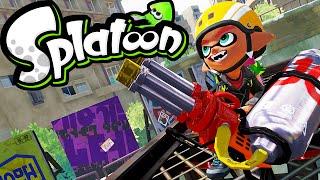 Splatoon Wii U Gameplay LIVE! Hydra Splatling NEW Weapon Museum d'Alfonsino 2.3 Stream Online HD