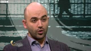 Roberto Saviano on living with death threats from the mafia   BBC News