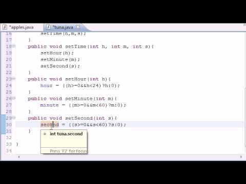Java Programming Tutorial - 40 - Set and Get Methods