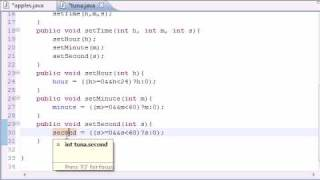 Java Programming Tutorial - 40 - Set and Get Methods