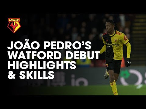 JOÃO PEDRO'S WATFORD DEBUT | SKILLS & HIGHLIGHTS!