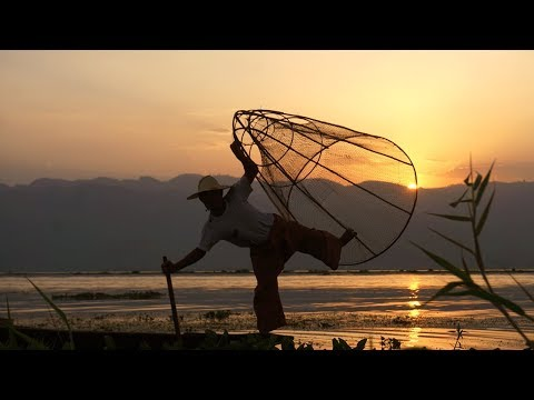 Fake fishermen in Inle lake, Myanmar (Burma) 🇲🇲 VLOG Julien Explore 🌏✈️