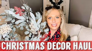 CHRISTMAS DECOR HAUL | MULTI STORE SHOPPING HAUL | CHRISTMAS 2019
