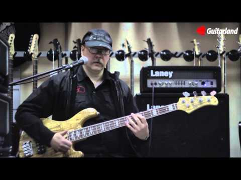 Бас-гитара Cort GB4-Custom - видео обзор