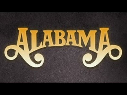Alabama - Feels So Right (Lyrics on screen)