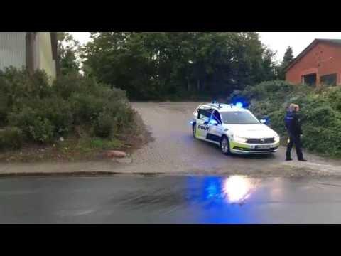 Politi ved Black Army i Odense