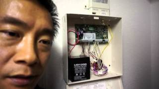 dsc home security system battery diagnosis replacement