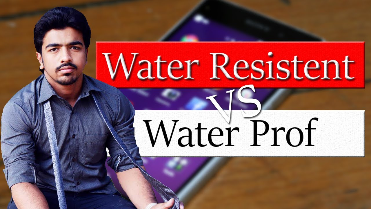 c1bc947e5 Water Resistant vs Water Proof | Difference Between Waterproof And Water  Resistant | [Explained]