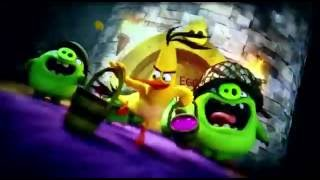The Angry Birds movie Chuck Slow Motion scene