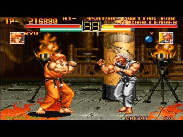 Art Of Fighting Ryo Arcade Level 8 Youtube