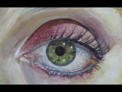 Wie malt man eine auge mit acryl malen mit acrylfarben - Pintar con acrilicos paso a paso ...