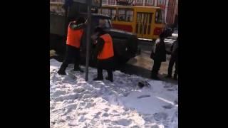 видео Изготовление и установка дорожных знаков в Барнауле