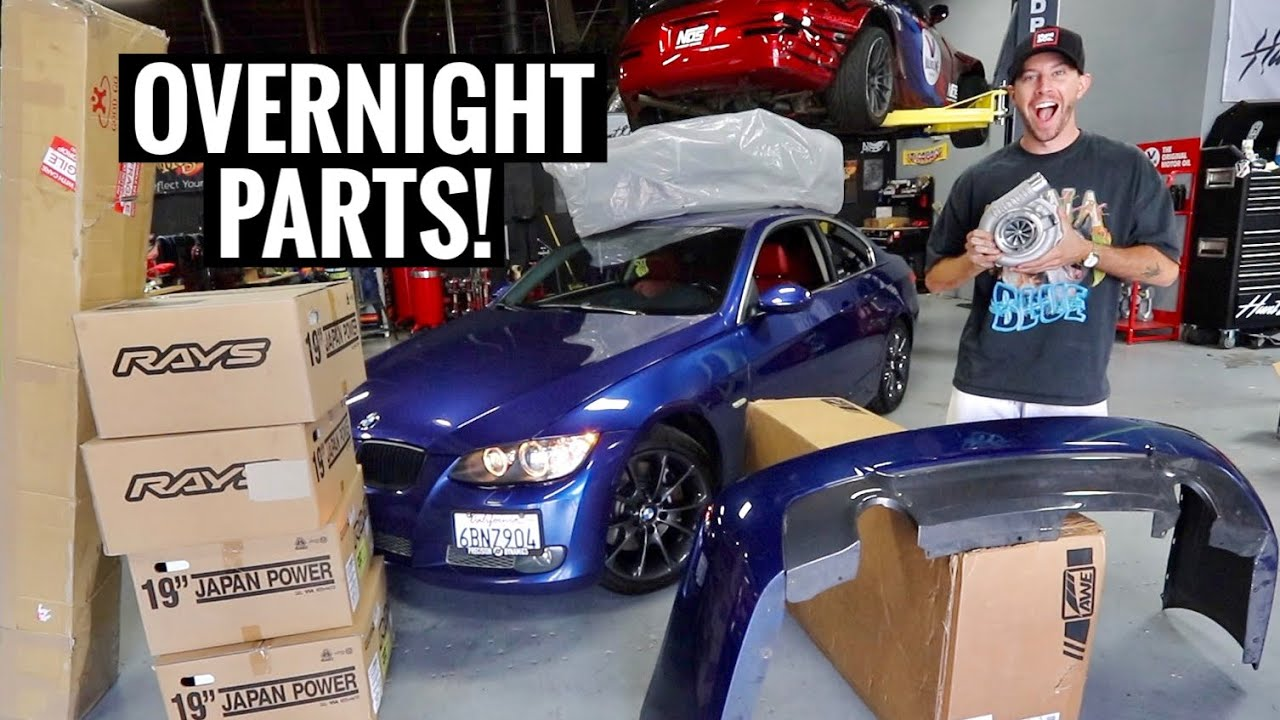 Turning a $5000 BMW 335i into a $50,000 BMW!