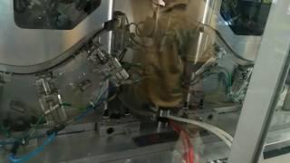 Hot plate welding machine in m…