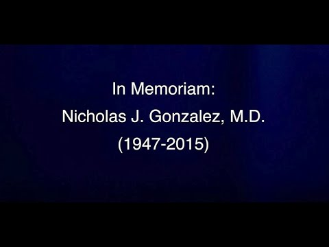 In Memoriam - A Tribute To Dr. Nicholas J. Gonzalez From His Office Staff
