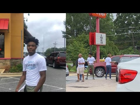 Teen who went viral for Popeyes voter registration idea now