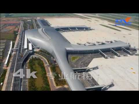 Latest Aerial View Nanning Airport (Professional 4K)