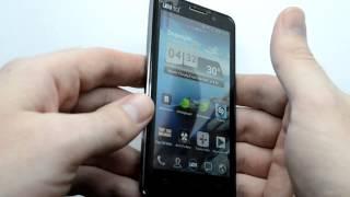 UMI X1 краткий видео обзор телефона Android 4.0 MTK6577(Тонкий китайский телефон на базе процессора MTK6577, 4.5