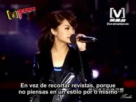 Rainie Yang  concierto V-Power 2008. Parte II (HQ). Sub esp.