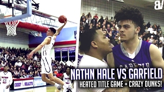 Nathan Hale Game Gets HEATED AGAIN! Michael Porter & PJ Fuller NASTY DUNKS in TITLE GAME!
