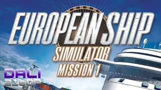 European Ship Simulator Mission 1 PC 4K Gameplay 2160p