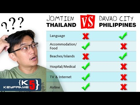 Living in Philippines vs Thailand Travel (with low budget) - Q&A #3