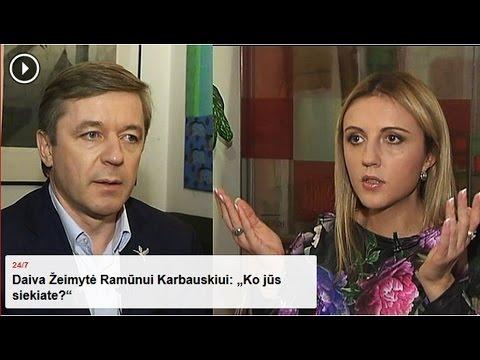 """Daiva Žeimytė Ramūnui Karbauskiui: """"Ko jūs siekiate?"""""""