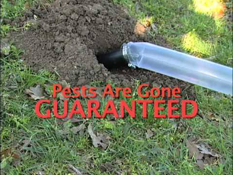 Gopher Control proven to be 90% Effective
