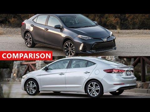 new corolla altis vs elantra all kijang innova warna putih 2018 hyundai toyota sedan comparison interior exterior test drive