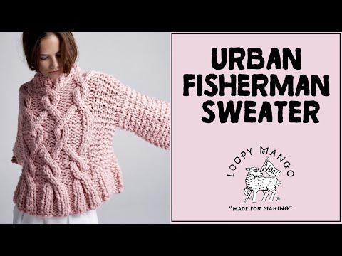Urban Fisherman Sweater