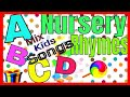 ABC & Mix Songs For Kids, Children or Baby Funny Cartoon Video,English Nursery Rhymes