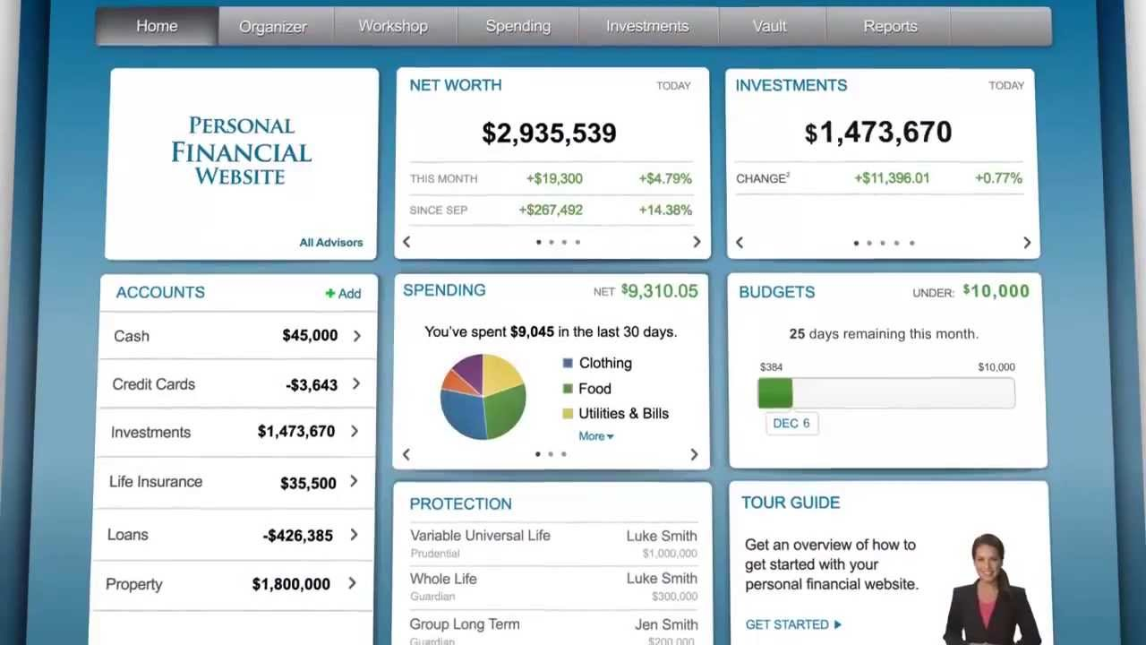 Smarter Personal Financial and Retirement Planning Software
