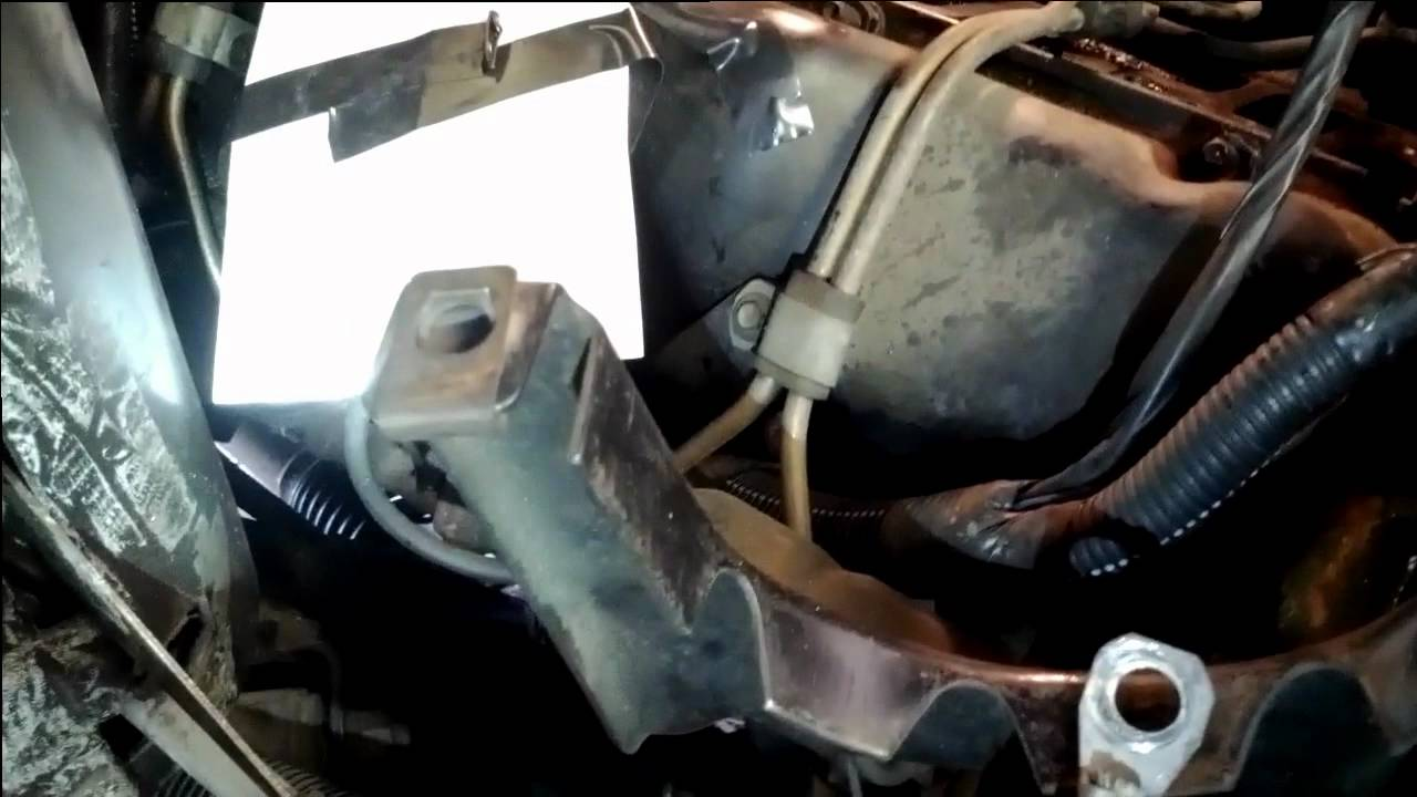 Chevrolet Truck P30 Fuel Filter Dented Line And Return Hoses 62l Diesel Youtube