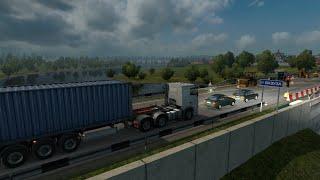 Euro Truck Simulator 2 Офисная Бумага из Калуги в Псков часть 1(, 2015-09-27T13:26:15.000Z)