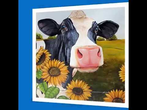 Cow Painting For Hobby Lobby - Best Cow Painting Hobby Lobby