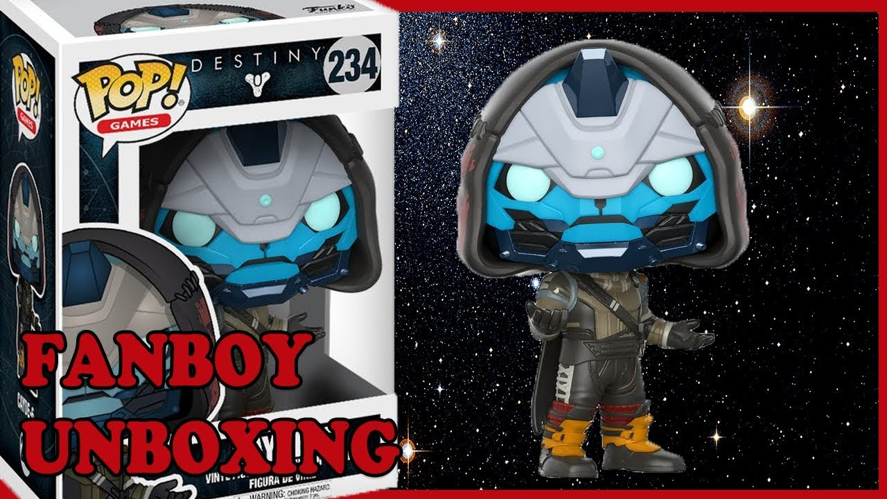 16e0a2aa2ed Destiny Cayde 6 Funko Pop Unboxing  Fanboy Unboxing - YouTube