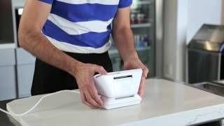 Turn clover mini pos around so your customer can pay on the beautiful display custom design to be just as gorgeous snap into place for yo...