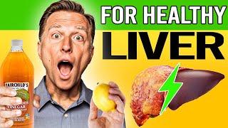Apple Cider Vinegar and Lemon Water for the Liver