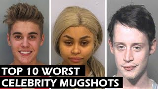 Top 10 Worst Celebrity Mugshots of all Time