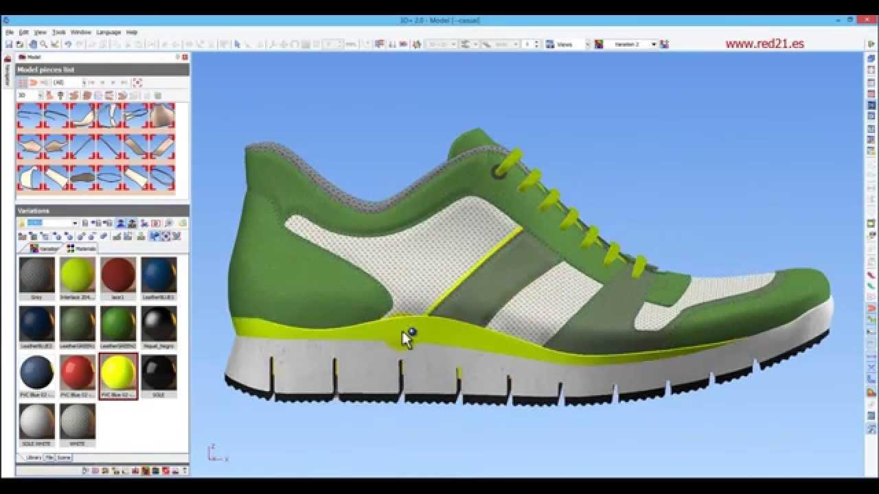 Shoe Design Cad Software