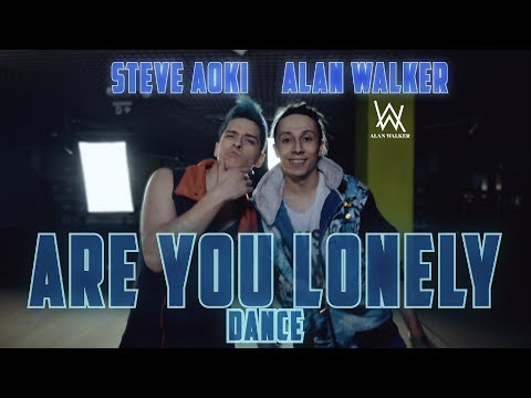 Steve Aoki & Alan Walker - Are You Lonely feat ISAK dance  Patman Crew Choreography