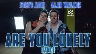 Steve Aoki &amp Alan Walker - Are You Lonely feat. ISAK dance Patman Crew Choreography