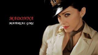 MADONNA - MATERIAL GIRL - Tradução HD 2016