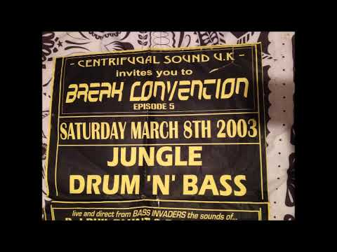 Bass Invaders (Phil Blunt & Overkill) - Break Convention 5 (2003) DNB SET