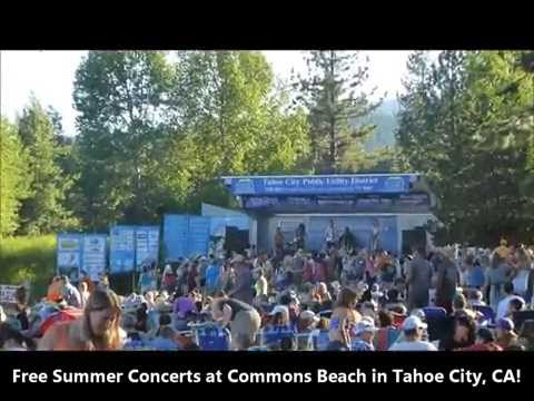 Tahoe City Summer Concerts at Commons Beach