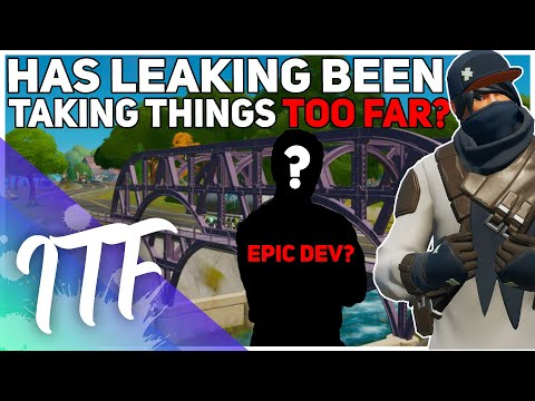 Are Fortnite Leaks Going Too Far!? (Fortnite Battle Royale)