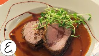 Beef Tenderloin With Fresh Horseradish And Black Pepper Crust - Emeril Lagasse