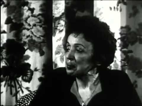 Edith Piaf  - Trouville Concert et Interview 1962